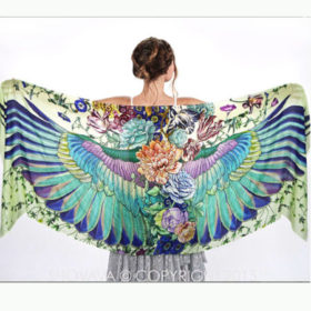 delicately hand-painted artwork