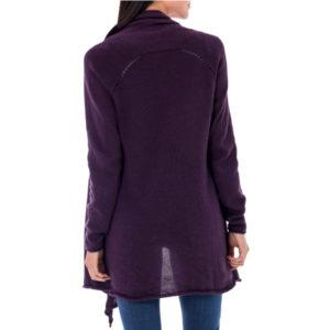 Devine alpaca-cotton open cardigan, fair trade certified from Good Creations.