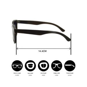 SOUL.R Black Star, eco-friendly , FSC-Certified sunglasses