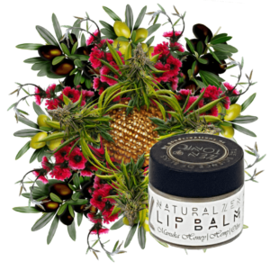 Zen&Tonic Lip Balm made with potent manuka honey, healing hemp and deeply moisturising olive oil.